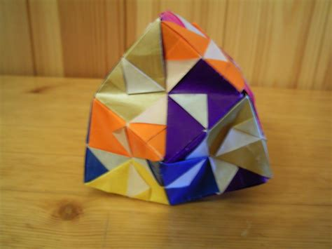 Modular Origami 12 Units - origami photos sonobe 12 units