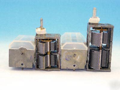 dual air variable capacitor dual air variable capacitors 380pf 320pf 505pf 480pf