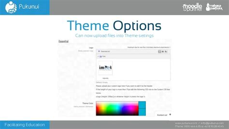 moodle theme engine whats new in moodle 25