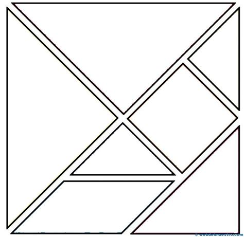 printable tangram puzzle outlines 17 best ideas about tangram printable on pinterest shape