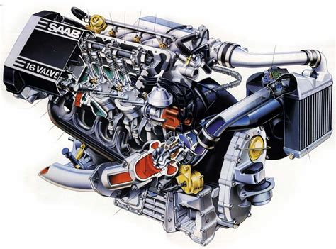 car engine repair manual 1998 saab 900 engine control engine with turbocharger
