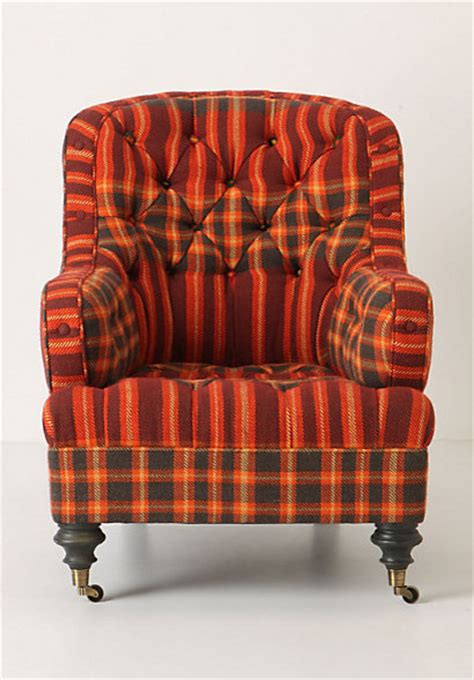 plaid armchair lunet chair plaid eclectic armchairs and accent