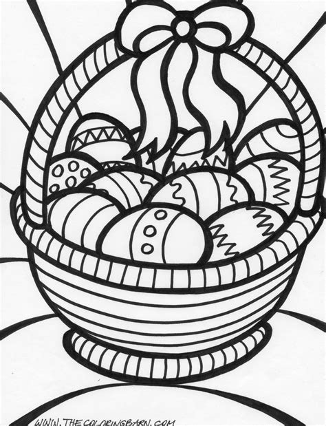 easter color easter coloring pages free large images