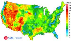 map of resources in the united states project maps u s geothermal energy potential zdnet