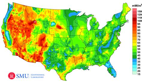 us weather heat map project maps u s geothermal energy potential zdnet