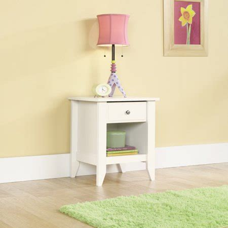 Sauder Shoal Creek Nightstand by Sauder Shoal Creek Nightstand Soft White Walmart