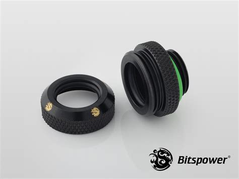 Bitspower Fitting 12mm Enhanced Multi Link Matt Black fittings page 4 dazmode