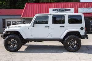 2015 jeep wrangler rubicon unlimited white hemi conversion