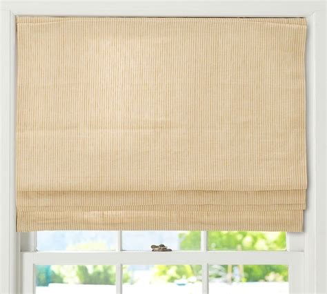 roman shade on curtain rod 17 best images about window treatments on pinterest