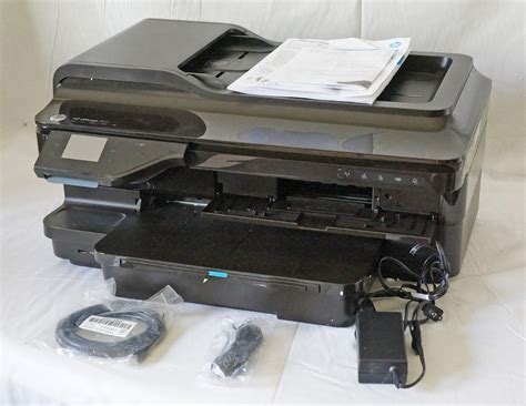 Hp Officejet A3 7610 Printscancopy hp officejet 7610 wireless color photo all in one print scan copy fax as is 887111620347 ebay