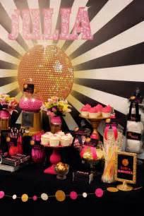 kara s ideas disco glam birthday planning