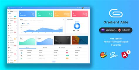 Gradient Able Bootstrap 4 Angular 5 Admin Dashboard Template Warez Download Download Nulled Rip Angular 4 Dashboard Template Free