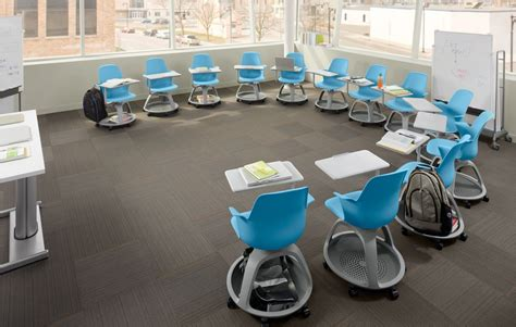 comfortable classroom for the many modes of learning node by steelcase 3rings