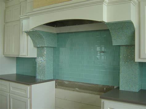 glass back splash backsplash granite tile should be fun