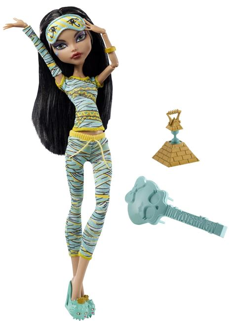 High Draculaura Cleo And Nile Ghoulia Yelps Doll Original high dead tired cleo de nile doll