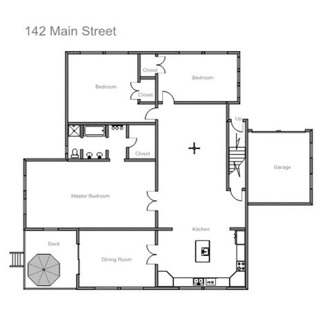 home floor plan drawing ezblueprint com