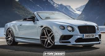 Drop Top Bentley Bentley Continental Supersports Looks Ready To Drop Its Top