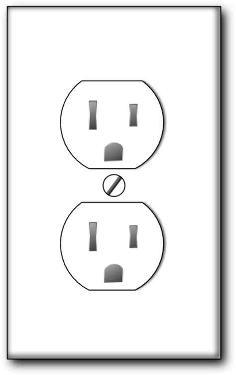 wall socket clipart clipground