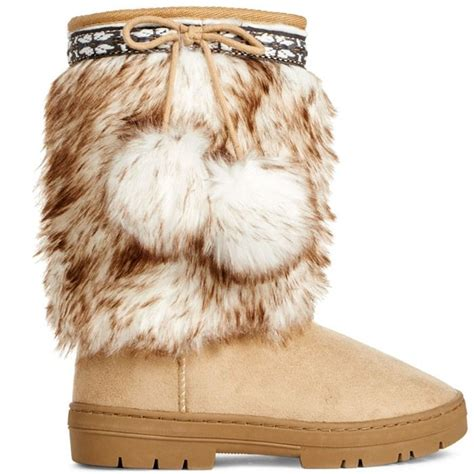 25 best ideas about fuzzy boots on make shoes