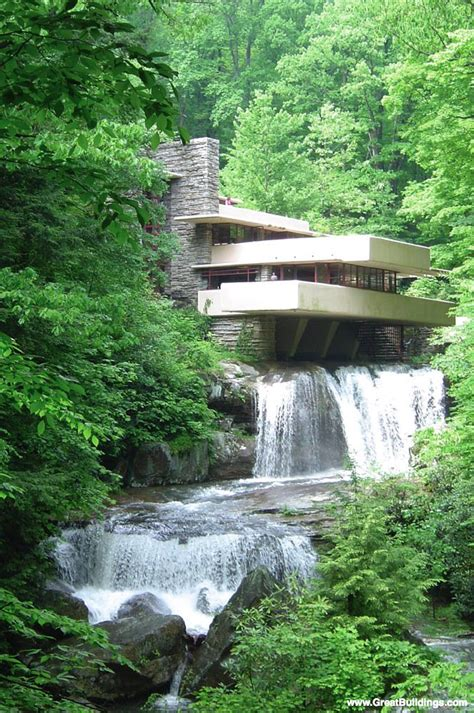 Fallingwater by Great Buildings Image Fallingwater