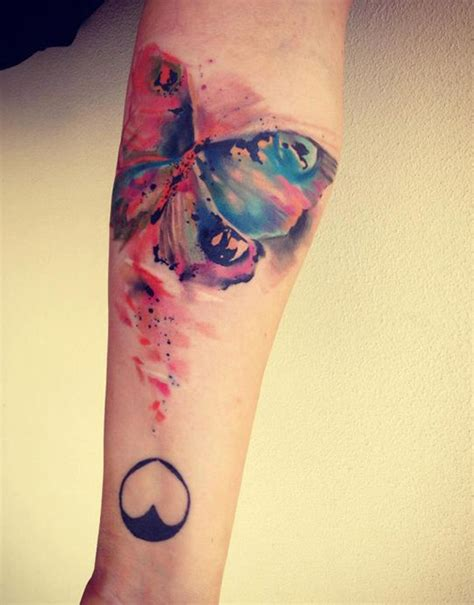 99 artistic watercolor tattoos that are living works of art