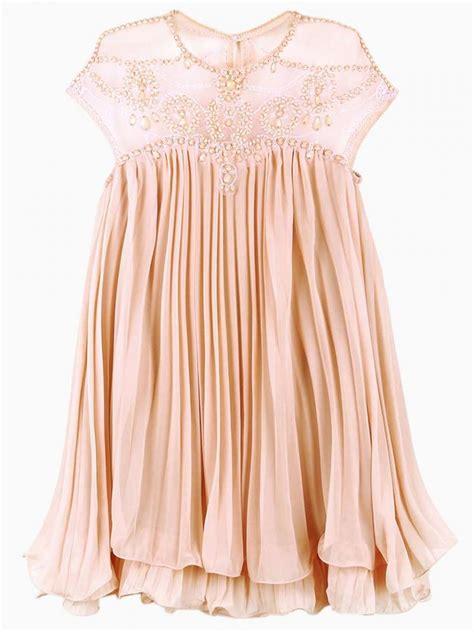 cute swing dresses cute swing dress with organza yoke choies