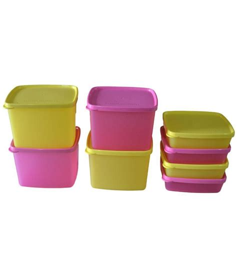 Cool Tupperware Set tupperware cool n fresh set of 8 containers 4pcs each of