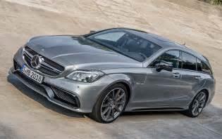 Mercedes Cls Shooting Brake Updated 2015 Mercedes Cls Plays Peekaboo