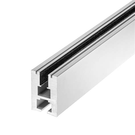 led strip light channel aluminum led channel for 6mm glass klus ex alu series