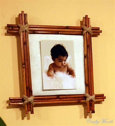 Handmade Photo Frames Procedure - 21 easy diy projects using bamboo for your home balay ph