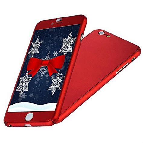 iphone 6 6s ipaky all protective slim cover with tempered glass screen
