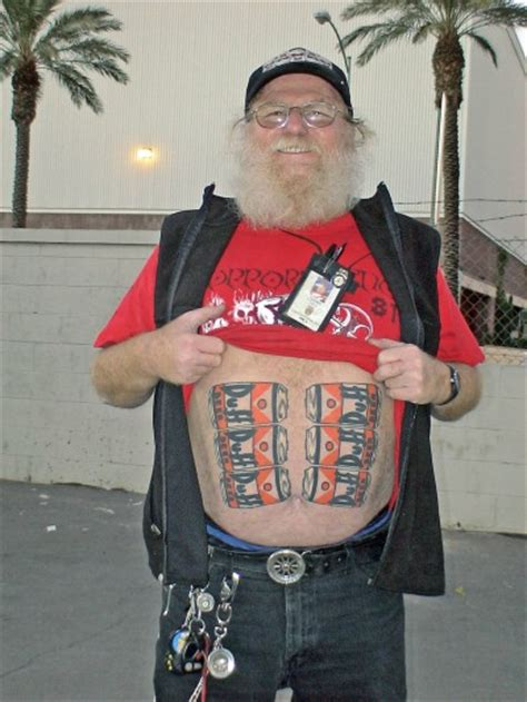6 pack tattoo the worst country tattoos on the web