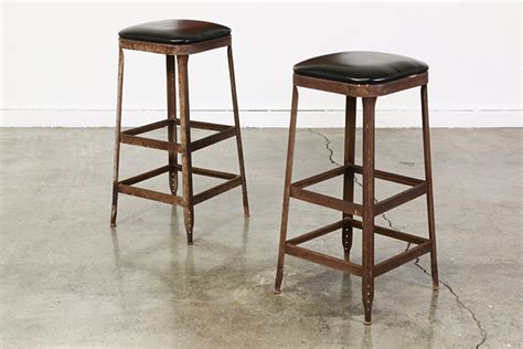 old metal bar stools vintage industrial metal bar stools vintage supply store