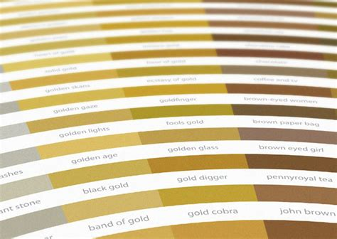 gold color names color wheels of colorful popular band song names