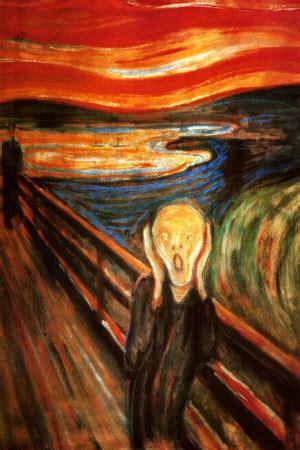 el grito de munch the scream the cry by edvard munch john briner my