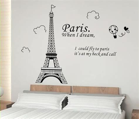 paris wall stickers for bedrooms wall decal awesome paris decals wall art ideas amazon