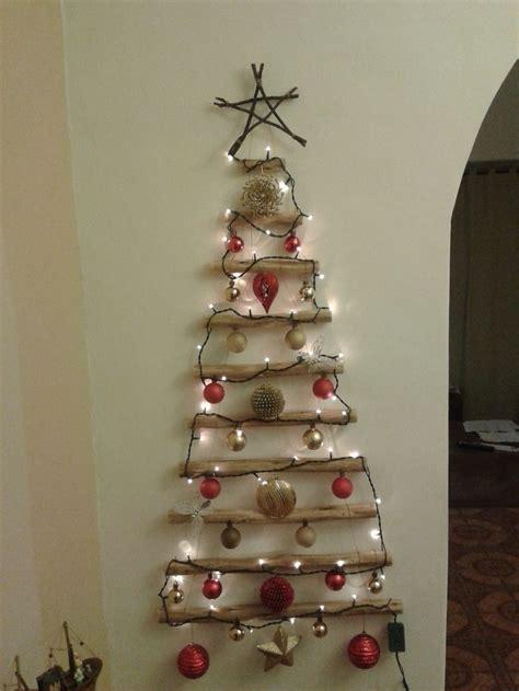 193 rbol de navidad de pared colgante de madera 193 rbol