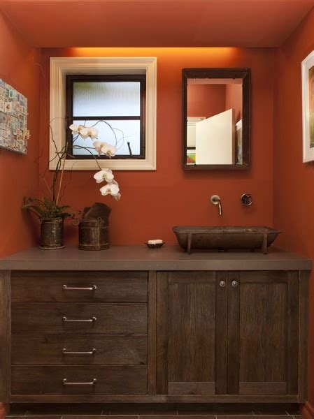 Warm Bathroom Colors by Wood Warm Bathroom Beautiful Homes Design
