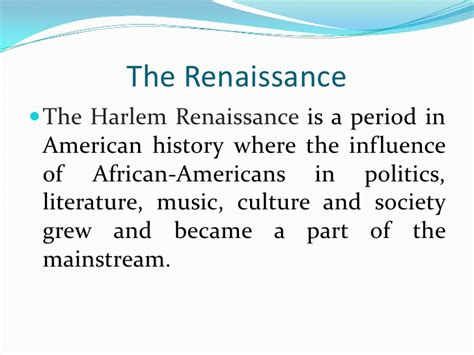themes of literature during the harlem renaissance langston hughes and the harlem renaissance
