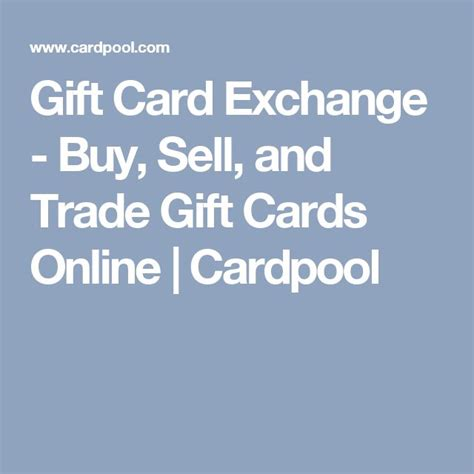 Buy Sell Trade Gift Cards - best 25 gift card exchange ideas on pinterest