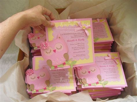 hacer tarjetas de baby shower de buho invitaciones para baby shower de b 250 hos imagui
