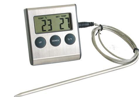 thermom鑼re de cuisine professionnel thermometre cuisson four table de cuisine