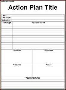 doc 585682 business action plan template 10 free sample