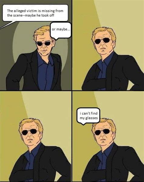 Csi Sunglasses Meme - image 45329 csi 4 pane comics know your meme