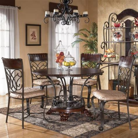 dining rooms with round tables d345 15 ashley furniture alyssa round dining room table