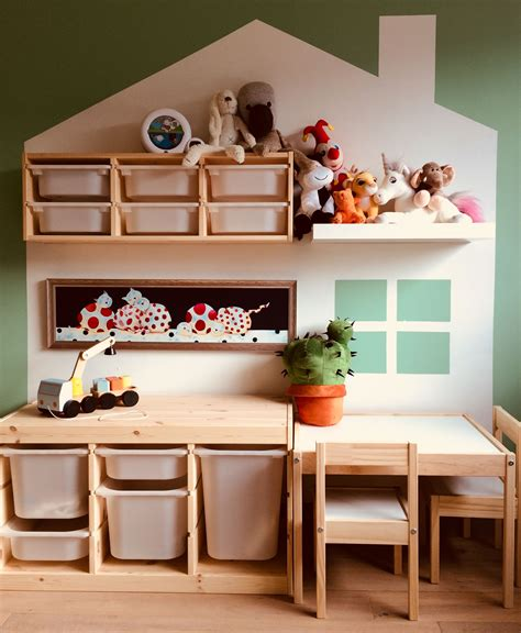 kinderzimmer deko poco kidsroom with ikea trofast and latt baby
