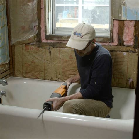 breaking   cast iron tub  tool