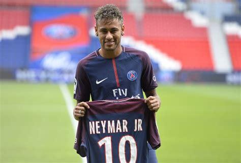 Jersey Bola 10 Neymar Psg Home 2017 2018 Grade Ori S M L Xl psg why i offered neymar my no 10 jersey www soccerladuma co za
