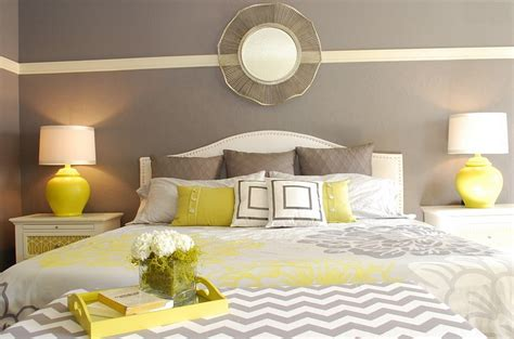 Yellow And Gray Decorating Ideas by 26 Best Grey And Yellow Bedrooms Decorating Ideas Furniture