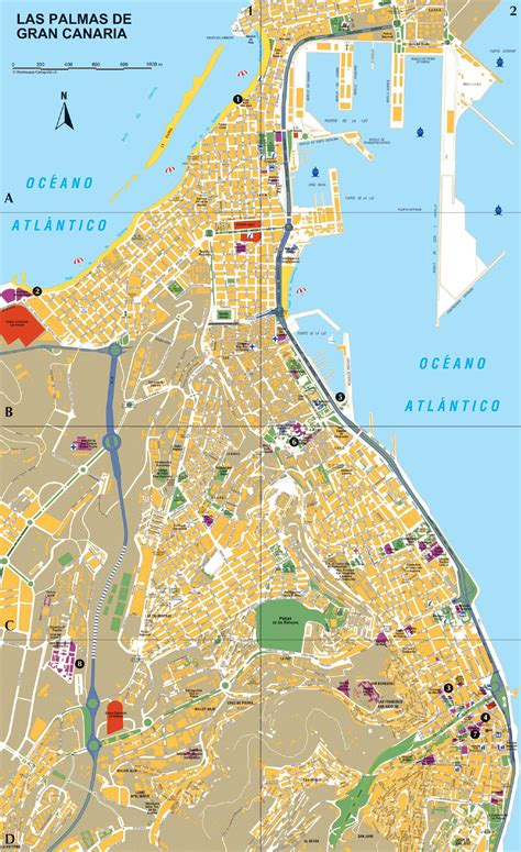 printable map gran canaria large las palmas maps for free download and print high